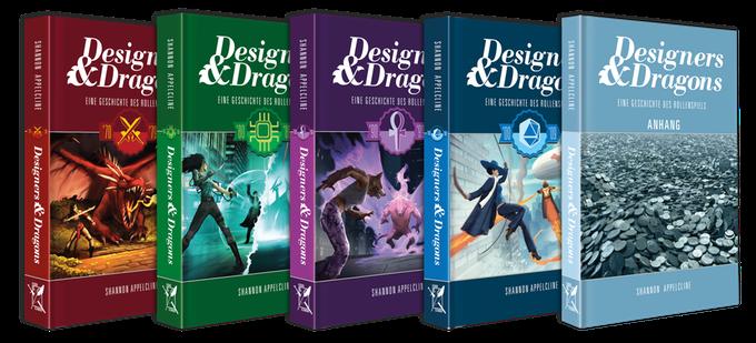 Designers & Dragons - Die Bücher